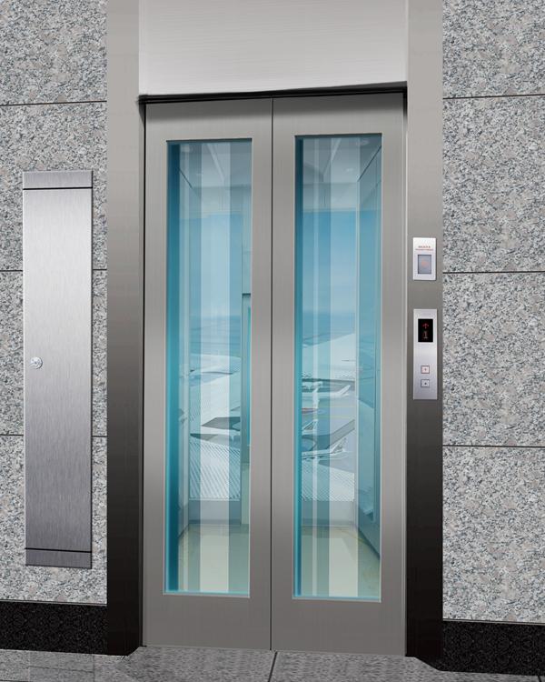无机房观光电梯