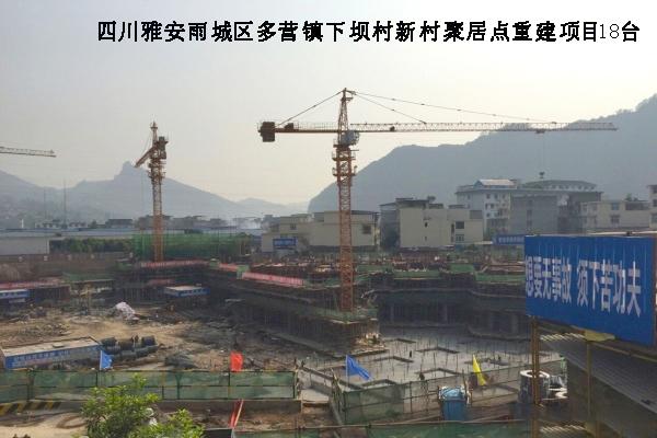 四川雅安雨城区多营镇下坝村新村聚居点重建项目 18台