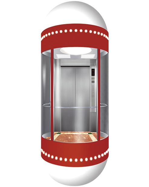 全景电梯轿厢 SSE-G004