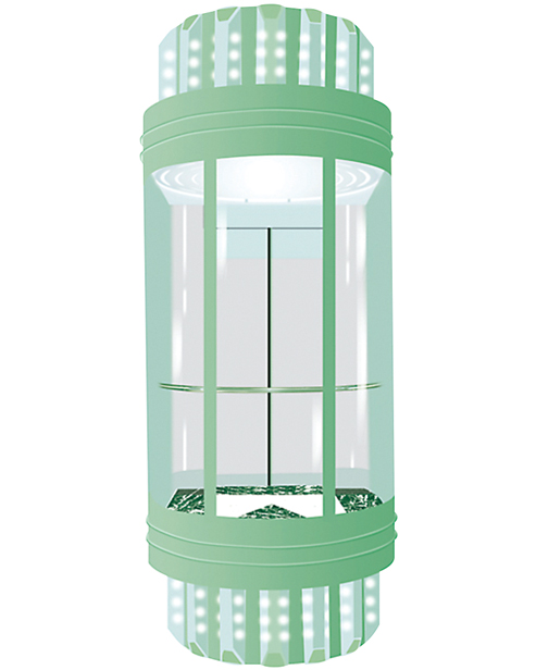 全景电梯轿厢 SSE-G007