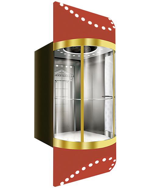 全景电梯轿厢 SSE-G011