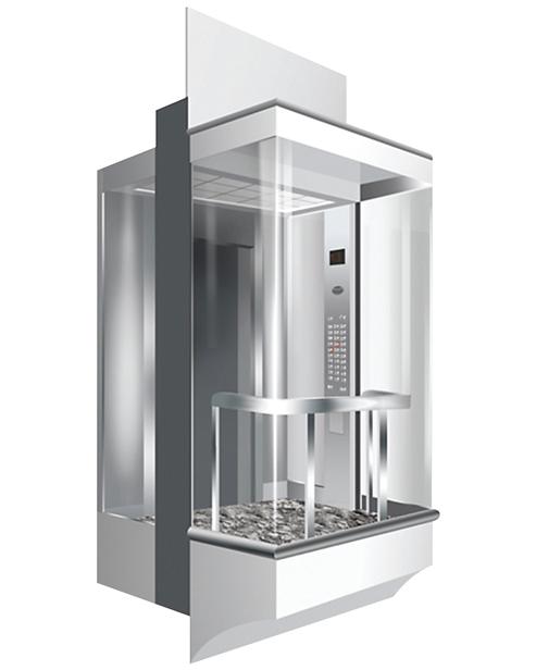 全景电梯轿厢 SSE-G017