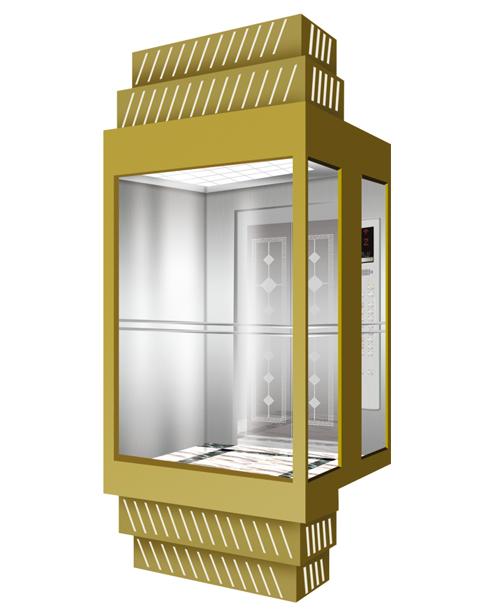 全景电梯轿厢 SSE-G018