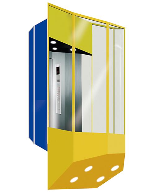 全景电梯轿厢 SSE-G019