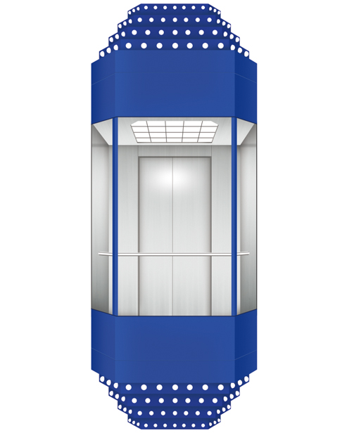 全景电梯轿厢 SSE-G022